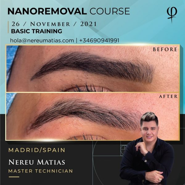 NANOREMOVAL COURSE MADRID