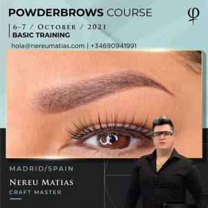 POWDERBROWS COURSE MADRID